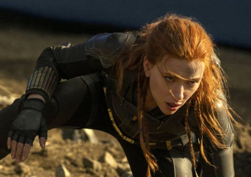 fracaso de Black Widow en cines