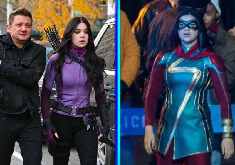 Hawkeye y Ms Marvel en 2021