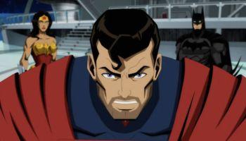 Elenco de la película animada de Injustice