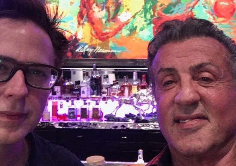 James Gunn felicitó a Sylvester Stallone (1)