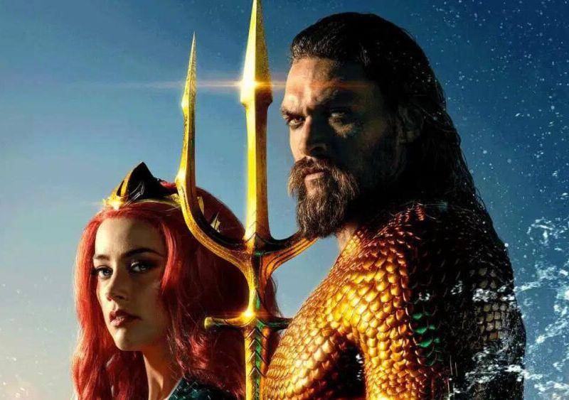 Jason Momoa llegó a las grabaciones de 'Aquaman 2'