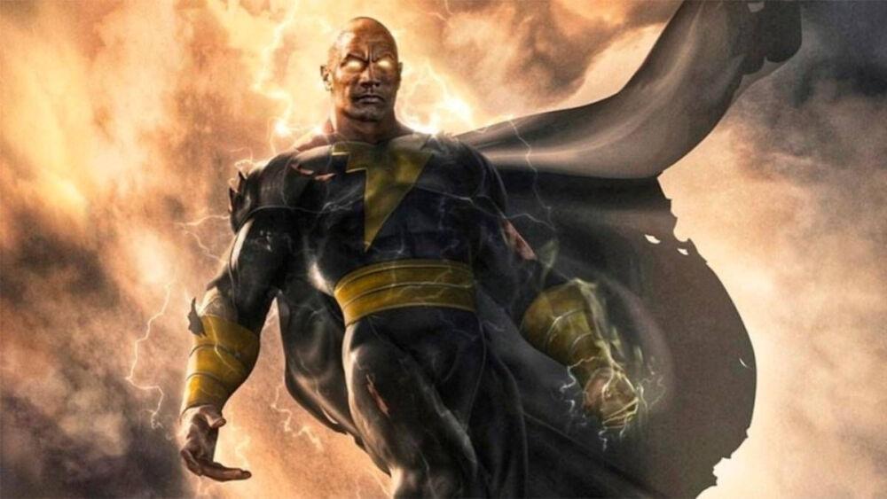 nuevo vistazo del traje de Black Adam
