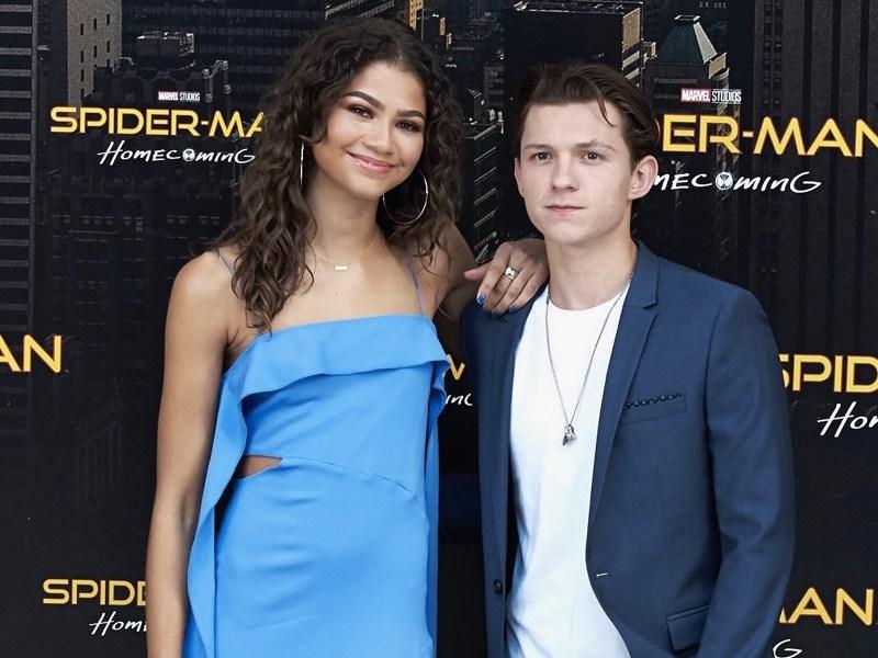 Tom Holland y Zendaya fueron vistos besándose