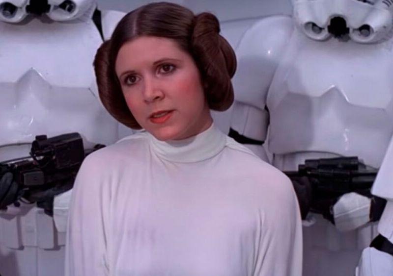 Vivien Lyra Blair sería Leia
