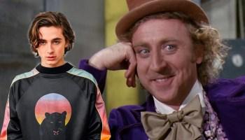 Elenco reacciona a Timothée Chalamet como Wonka