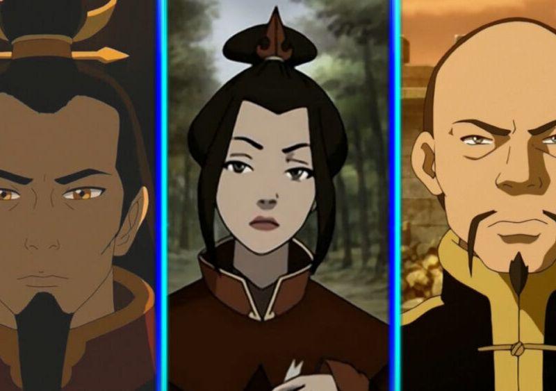 Azula en el live-action de Avatar The Last Airbender'