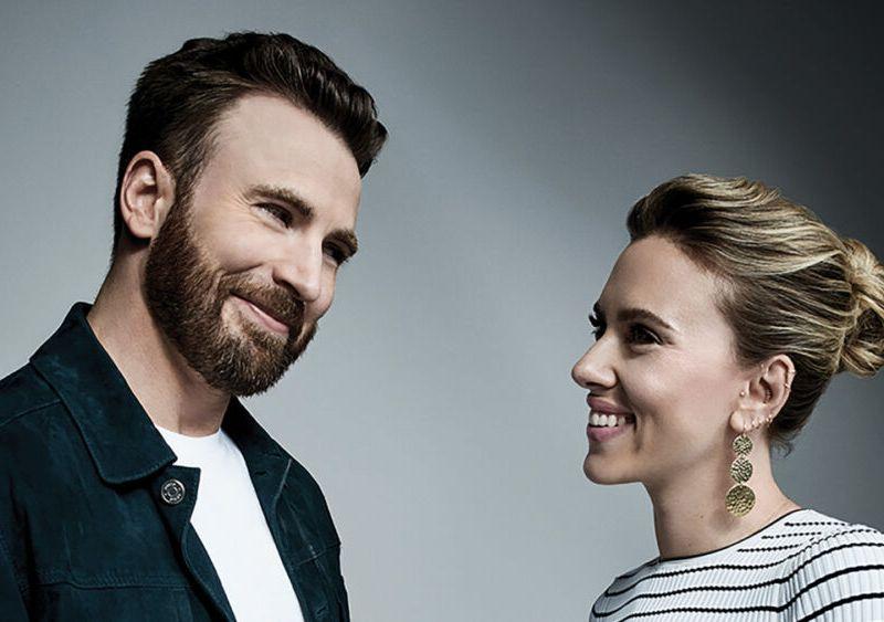 Chris Evans y Scarlett Johansson en Apple TV+