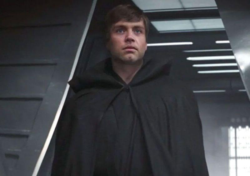 cómo se grabó la escena de Luke en The Mandalorian