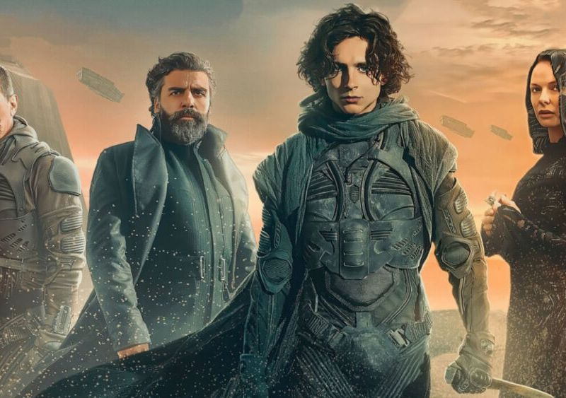 guion de 'Dune Part 2' en desarrollo