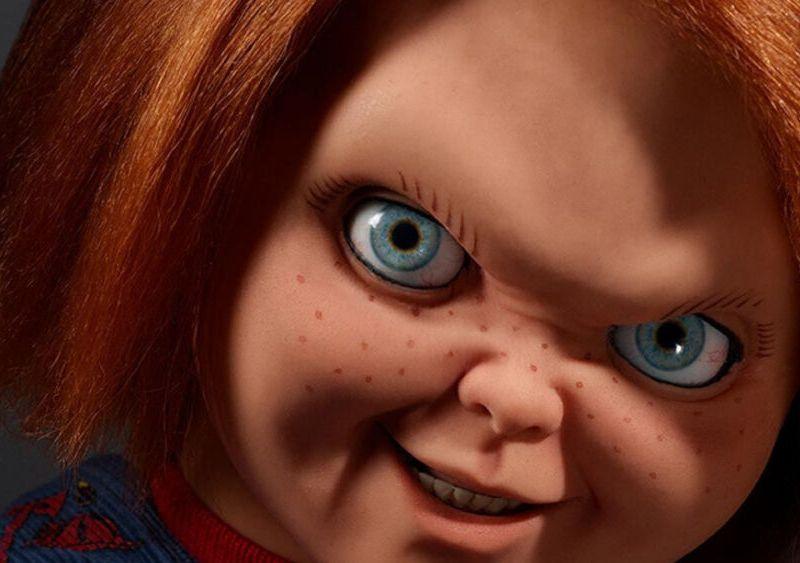 foto de detrás de cámaras de la serie de 'Chucky'