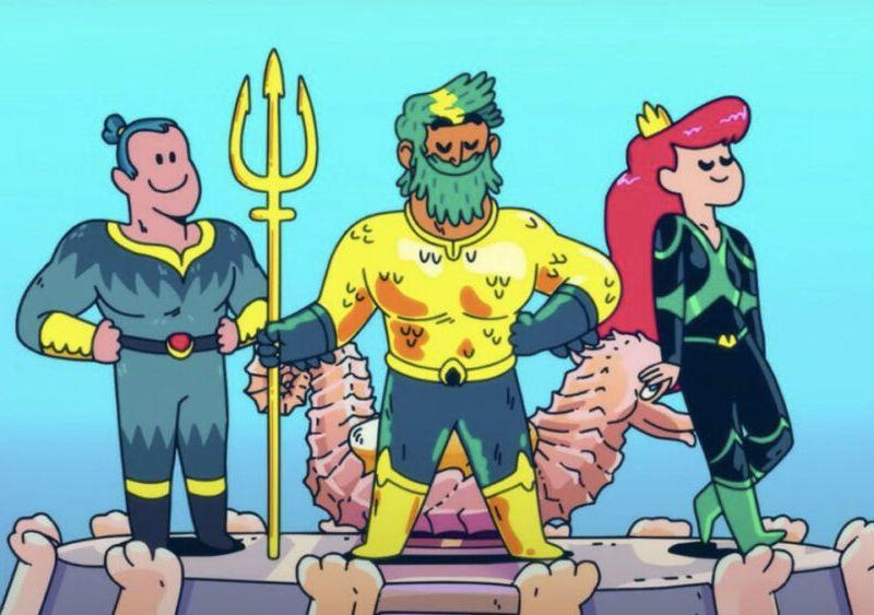 Primer trailer de Aquaman: King of Atlantis