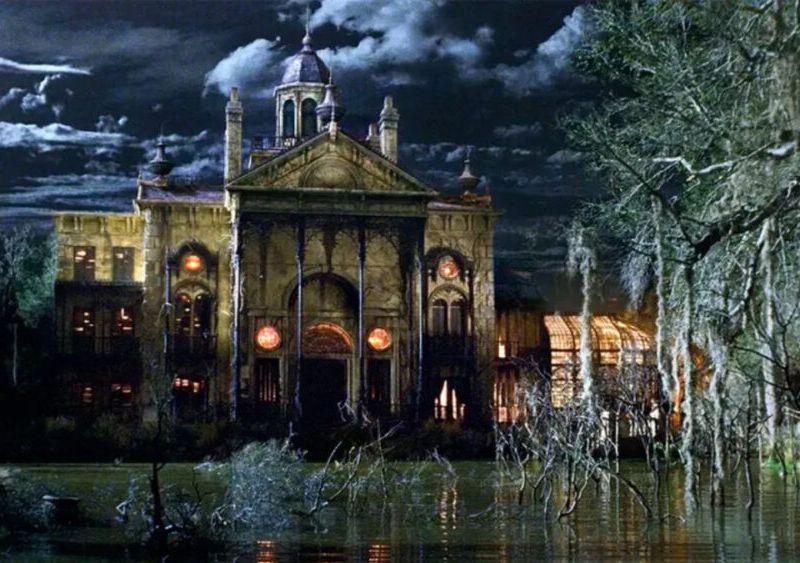 fecha de inicio de grabaciones de The Haunted Mansion (1)