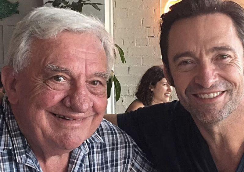 Fallece el papá de Hugh Jackman