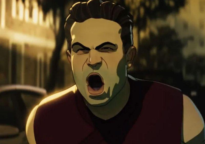 Hulk en el ataque zombie