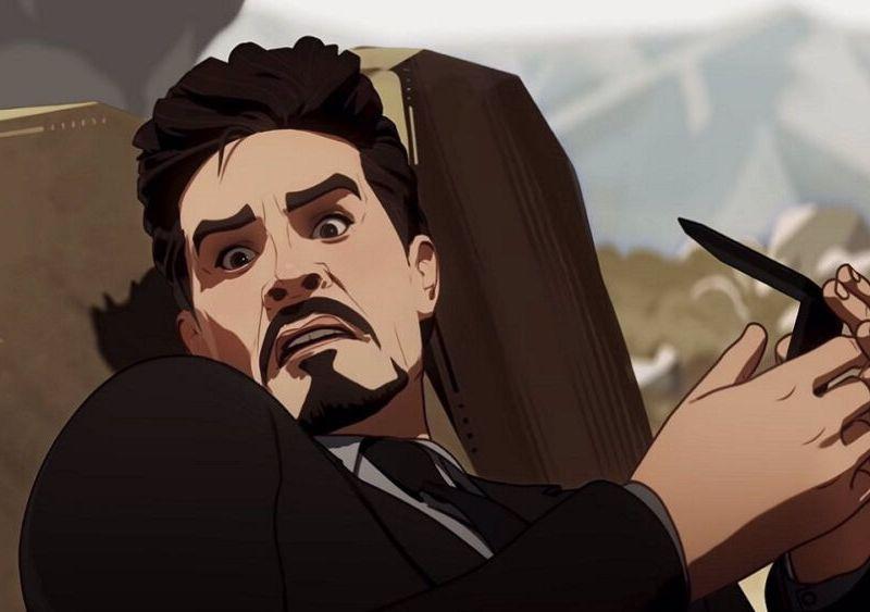 Mick Wingert fue Tony Stark