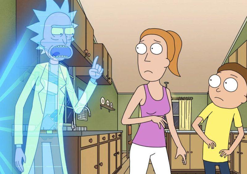 Final de la quinta temporada de Rick & Morty