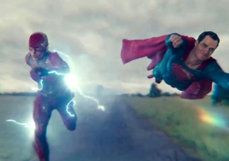 cameo de Superman en The Flash