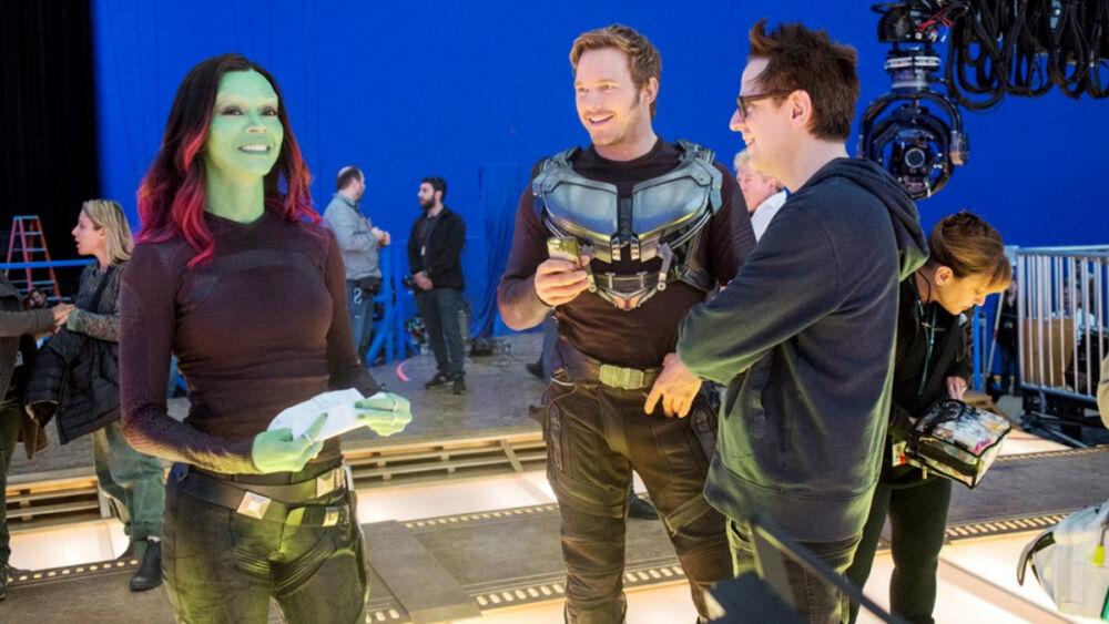 James Gunn negó el inicio de grabaciones de Guardians of the Galaxy vol 3