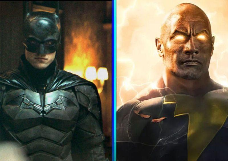 nuevas imágenes de The Batman y Black Adam