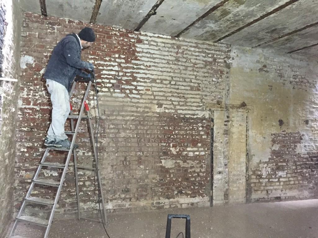 Wandsanierung Backsteinwand Loft - do it yourself! - WIR