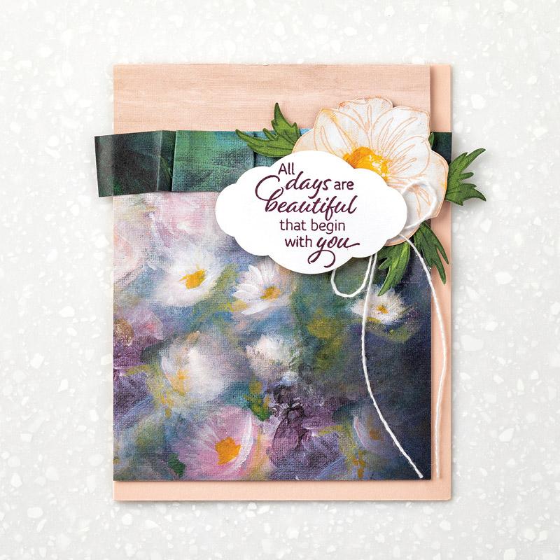 Designerpapier Florale Träume