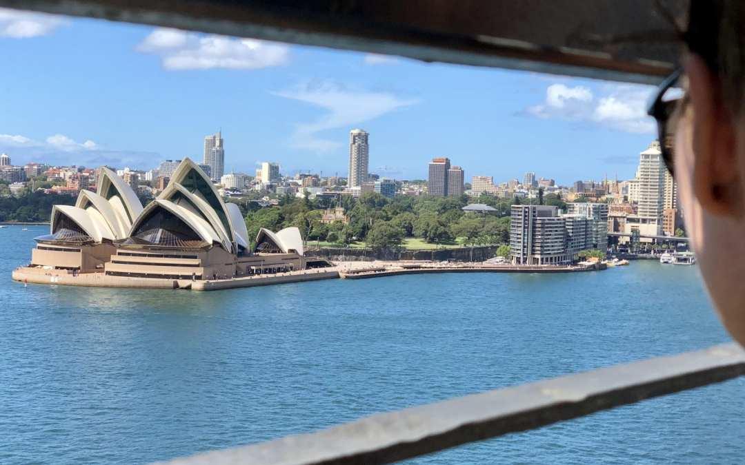 Kurzer Stopover in Sydney