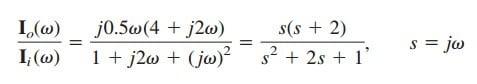 transfer function