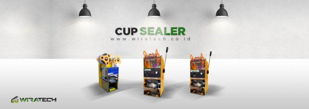banner Cup Sealer New
