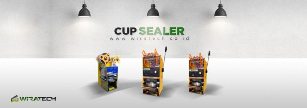 banner Cup Sealer New