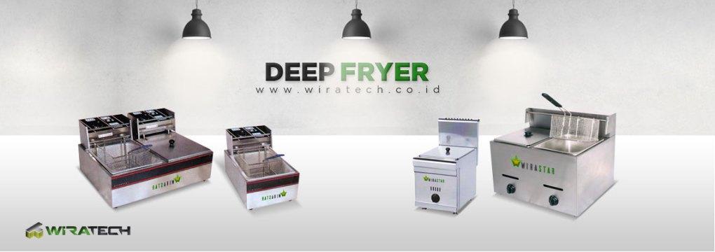 Mesin Deep Fryer New