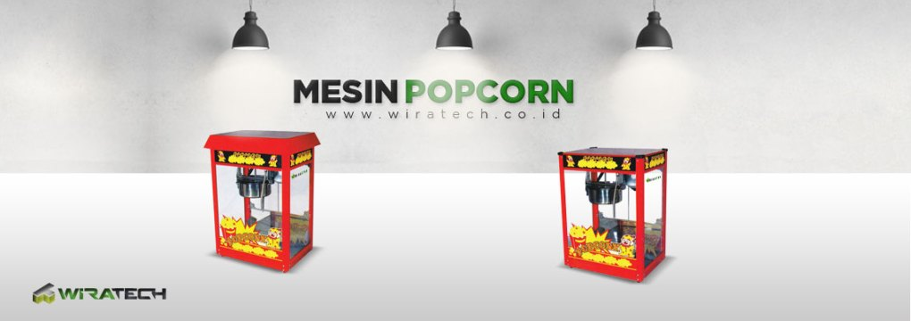 Mesin Popcorn New