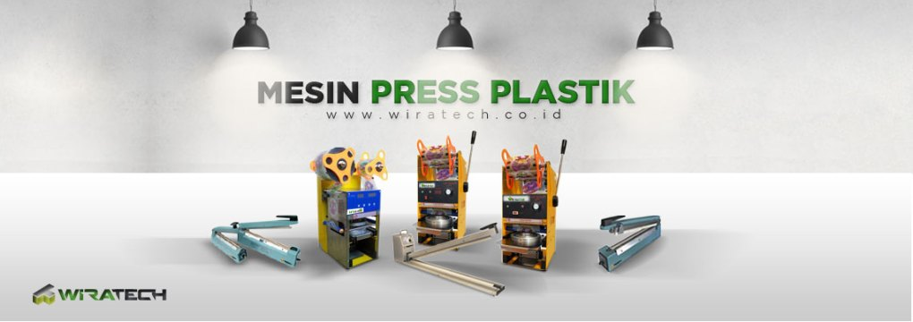 banner Mesin Press Plastik New