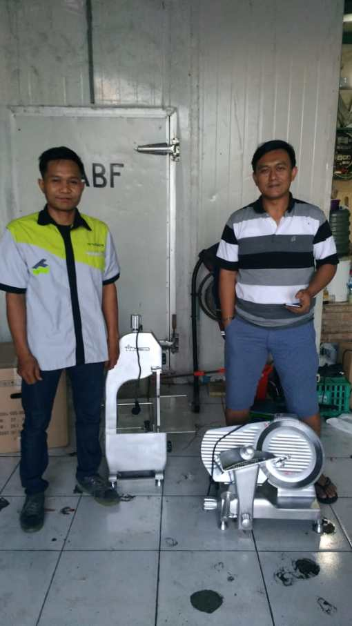 5. Pak Aboy - Bone Saw BSW-1650A - Meat Slicer MSC-300 - 23 April 2019 - DONE