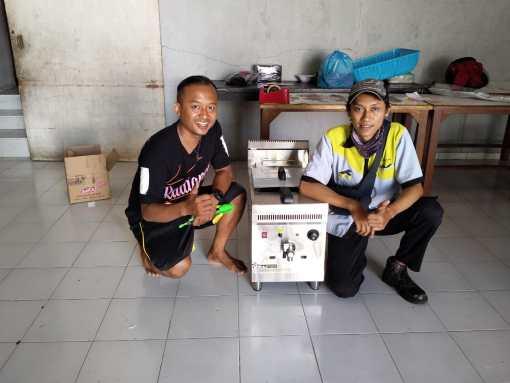 1. Pak Edy - Semarang - Gas Deep Fryer - GF-171 - 14 September 2020
