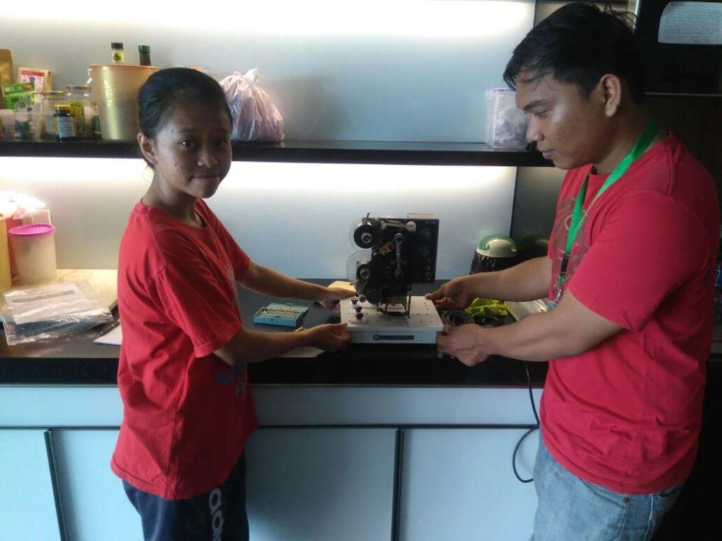 Jessica, Jakarta, Coding Machine