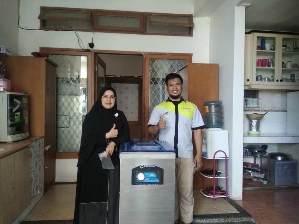 Mesin Vacuum Sealer DZ-400X, ibu Emma , Sukamiskin - Bandung