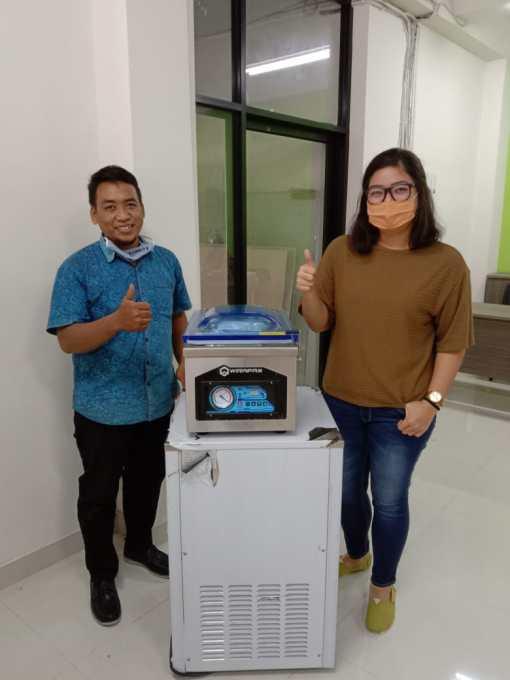 1. Ibu Tata - Yogyakarta - Vacuum Machine HVC-260T - 11 Juli 2020