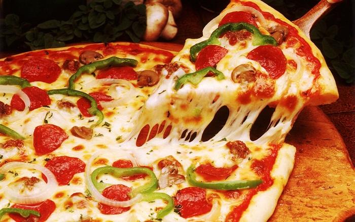resep cara membuat pizza