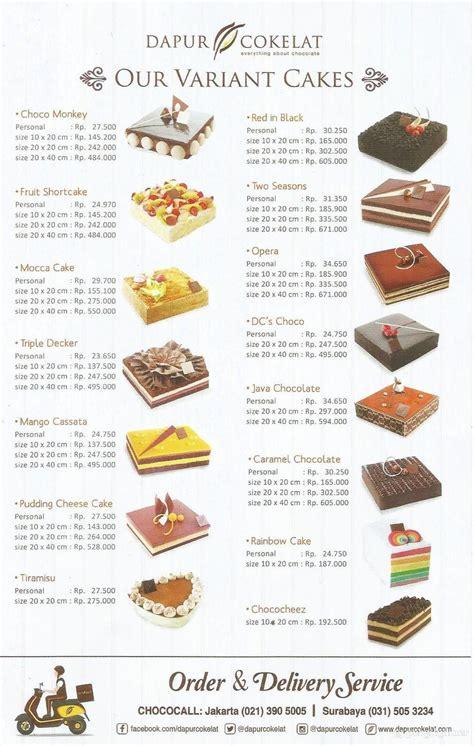 Harga Cake Dapur Cokelat
