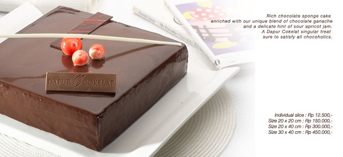 Harga Kue Dapur Coklat