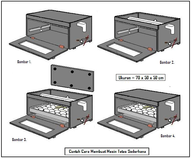 alat penetas telur sederhana