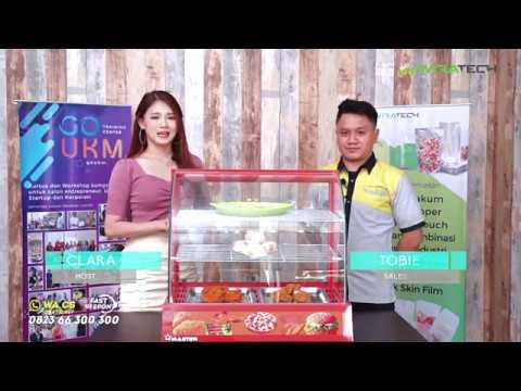 Review Showcase Display Warmer Wirastar - Etalase Makanan