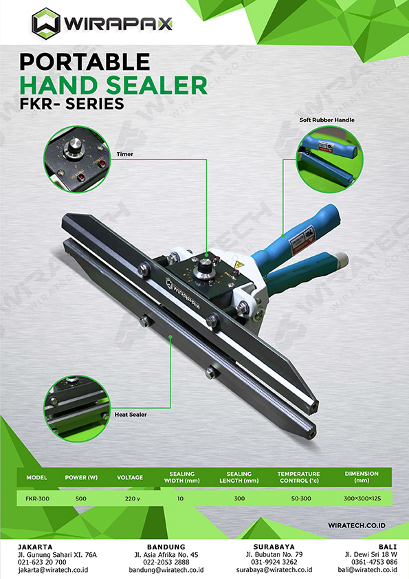 Hand sealer portable FKR-SERIES-01
