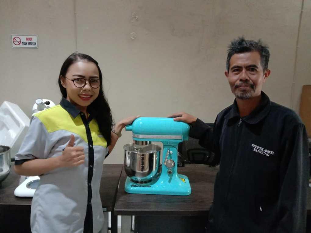 1. Bapak Asep - Parongpong Lembang - Planetary Mixer B7 Blue - 21 Agustus 2019 - DONE