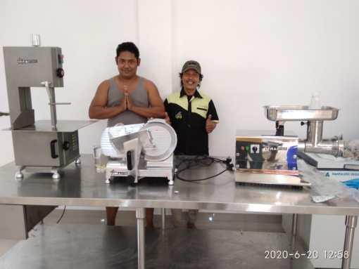 5. UD Trisakti - Darmasabe - Bone Saw BSW-1650A - Meat Slicer MSC-250 - Meat Grinder MGD-32H - 20 Juni 2020