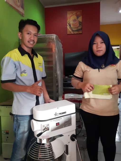 6. Donat Madu Cihanjuang - TB Simatupang - Planetary Mixer B20F - 20 Agustus 2019 - DONE
