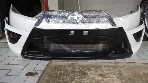 jual bodykit grand new avanza warna grey metallic wira utomo otoparts – spesialis bemper copotan dan ...