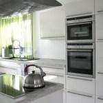 Kuche In Weiss Und Grun Wir Bauen Unser Haus