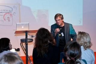 Mein Vortrag über Graphic Recording auf der Frankfurter Buchmesse 3