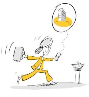 Illustrationen für eine Präsentation eines Beratungsunternehmens 1